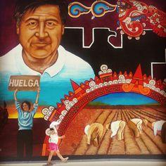 Chicano Street Art El Paso Huelga