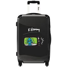 iKase 'Pop Art Keith Haring ,Check-in 24-inch .Hardside Spinner Luggage