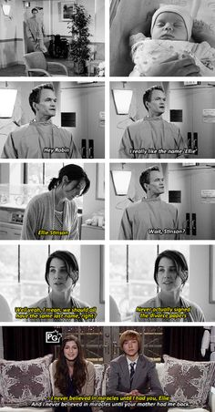 Alternate ending. I don't like the real ending. Since Robin and Barney got divorced the last season is kinda unnecessary, although it was funny