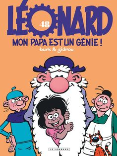 Léonard T48, papa ou rien  https://www.ligneclaire.info/zidrou-turk-48-52843.html