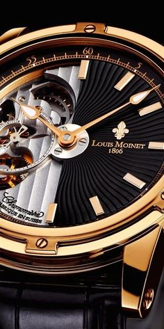 Louis Moinet, manufacturer of limited editions and one-of-kind exclusive Swiss watches. Amazing Watches, Beautiful Watches, Cool Watches, Rolex Watches, Datejust Rolex, Stylish Watches, Luxury Watches For Men, Tag Heuer, Mens Designer Watches