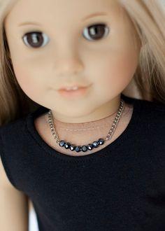 American Girl doll necklace by EverydayDollwear on Etsy, $4.00