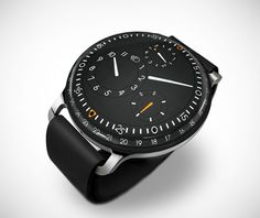 Ressence Type 3 Watch on http://www.gearculture.com
