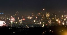 The Awesome Fireworks In Manila Stole The Show On New Year's Eve