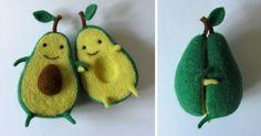 Amor de aguacate: creaciones de fieltro de la artista ucrania Anna Dovgan   Bored Panda