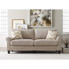 "Found it at Wayfair - Serta® RTA Copenhagen 78"" Sofa in Grey"