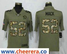 0d3da6630f4 Men Jacksonville Jaguars 20 Ramsey Olive Camo Carson Nike Salute to Service  Limited NFL Jerseys. cheerera · NFL Chicago Bears jerseys