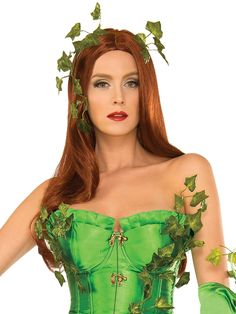 The Poison Ivy Deluxe Wig is a perfect accessory for your Halloween costume this year. Accessorize your costume with our exclusive props, decorations, wigs and many more at Costume SuperCenter. Set your costume above the rest! Dc Costumes, Costume Wigs, Super Hero Costumes, Halloween Costumes, Poison Ivy Wig, Poison Ivy Costumes, Poison Ivy Character, Costume Supercenter, Fairy Tail Pictures