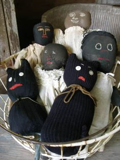 Old sock dolls