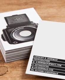 Business Card designs - Vintage Focus