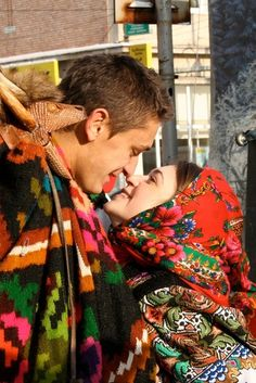 lovers. New Years Eve #tradition #Romania