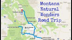 Check out this natural wonders road trip through Montana to see the state like you've never seen it before. So beautiful! Oregon, Big Sky Montana, Flathead Lake, Camping Spots, Camping Hacks, Camping Survival, Camping Ideas, Big Sky Country, Cross Country