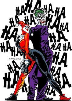 The Joker and Harley Quinn by Cordova