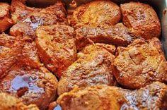 Fűszeres sertésszelet a sütőből! Omlós hús egy óra alatt, mágikus falatok könnyedén! Pork Recipes, Cooking Recipes, Hungarian Recipes, Meat Chickens, Food 52, Aesthetic Food, Main Dishes, Bacon, Food And Drink