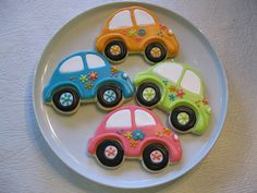 VW Bug cookies
