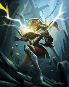 Sword of Magic by panjoool on DeviantArt