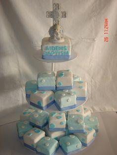 baptism cakes make pink