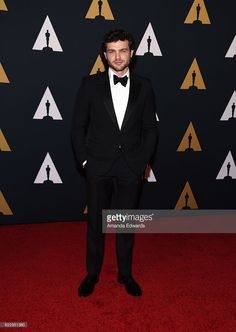 Actor Alden Ehrenreich arrives at the Academy of Motion Picture Arts and Sciences' 8th Annual Governors Awards at The Ray Dolby Ballroom at Hollywood & Highland Center on November 12, 2016 in Hollywood, California.