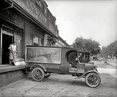 "Washington, D.C., circa 1925. ""Ford Motor Co. truck, John H. Wilkins Co.""…"