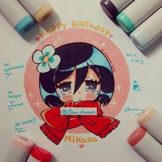 Feliz cumpleaños mikasa!!! Me encanta ella, la amo! Esperamos sigas siendo tan…
