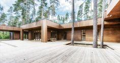 Фотографии реализованных проектов, дома построенные компанией Polar Life Haus в различных странах мира