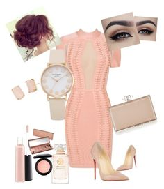 Nude by lexlux on Polyvore featuring polyvore, fashion, style, Posh Girl, Christian Louboutin, Judith Leiber, Kate Spade, MAC Cosmetics, Tory Burch, Urban Decay and clothing