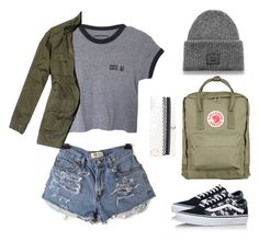 """Back to school"" by fancyfay on Polyvore featuring Nili Lotan, Vans, Acne Studios, Aéropostale, Fjällräven, BackToSchool, casual, school and ootd"