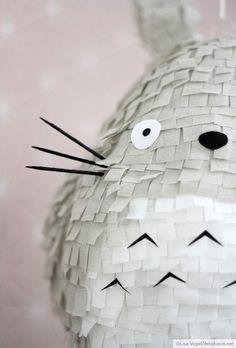 My Pinata Totoro. Who would hit it?