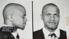 Malcolm Little, Massachusetts Prison Mug Shot, 1952