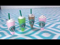 DIY Miniature Doll Starbucks - YouTube