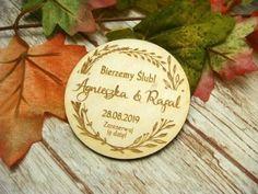 Zaproszenia ślubne laserowe, drewniane dodatki i dekoracje Save The Date, Personalized Items, Alcohol, Wedding Invitation