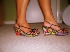 decoupage shoes - Google Search
