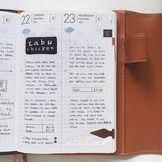 queennaaa:   #planner #agenda #artjournal #diary... - The Hobonichi