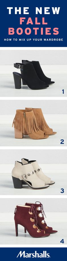 678264af707e How to mix up your wardrobe with the new fall booties. 1) The black