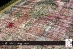 One of a kind authentic vintage rug