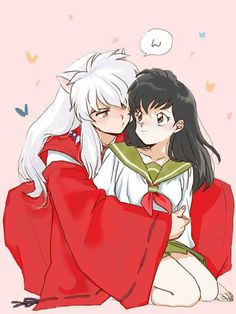 Inuyasha- Inuyasha and Kagome #Anime