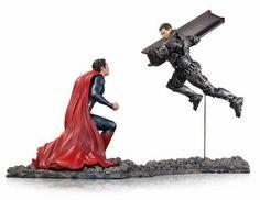 Man Of Steel Superman vs. Zod 1:12 Scale Statue  http://shrsl.com/?~4oua