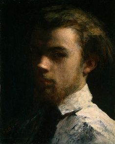 Henri Fantin-Latour (Henri Fantin Latour). Another spooky portrait for the wall in the house in my book The Night Watch.