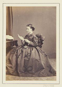 Princess Helena, 1864 [in Portraits of Royal Children Vol.7 1863-1864]   Royal Collection Trust