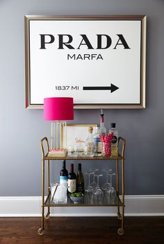 Bar carts serve as stylish yet hardworking hubs for entertaining. Learn how to style your beverage station with these beautiful bar cart ideas. #barcart #barcartstyling #barcartideas #barcartdecor #bhg Bar Cart Styling, Bar Cart Decor, Wine Storage, Storage Ideas, Storage Racks, Smart Storage, Storage Solutions, Wine Station, Outdoor Bar Cart