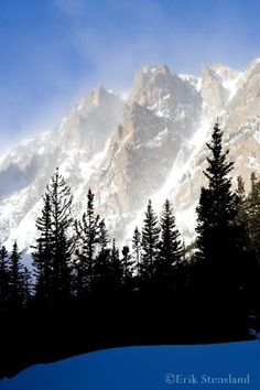 Winter in Dream Lake (Rocky Mountain National Park, Colorado) by Erik Stensland
