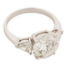 Check out this item at One Kings Lane! Estate 6.12ct Diamond Engagement Ring