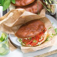 Power Slim Mediterraan Broodje - heerlijk voor de lunch. Je kiest zelf je 'Power Slim proof' beleg.