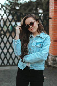 Weekend Fun, Denim Outfit, Zara Tops, My Boyfriend, My Heart, Spring Fashion, Sunshine, Vest, Photoshoot