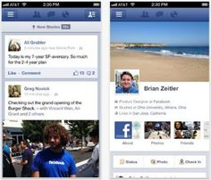 Facebook agrega filtros similares a los de Instagram en su aplicación móvil de iOS