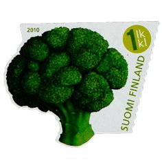 Finland, Broccoli, Stamps, Vegetables, Food, Plants, Seals, Essen, Vegetable Recipes