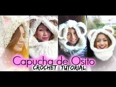 Capucha de Osito | CROCHET TUTORIAL. Link download: http://www.getlinkyoutube.com/watch?v=1Axm85LRyR0