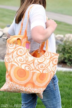 Summertime Bag: Great for Trips to the Park, Pool or Beach