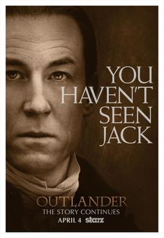 Black Jack Poster, Outlander S1b on Starz
