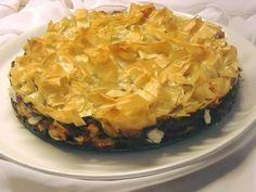 Τούρτα σπανακόπιτα, ιδανική και για μπουφέ… Spanakopita, Macaroni And Cheese, Cabbage, Appetizers, Pizza, Vegetables, Ethnic Recipes, Party, Desserts